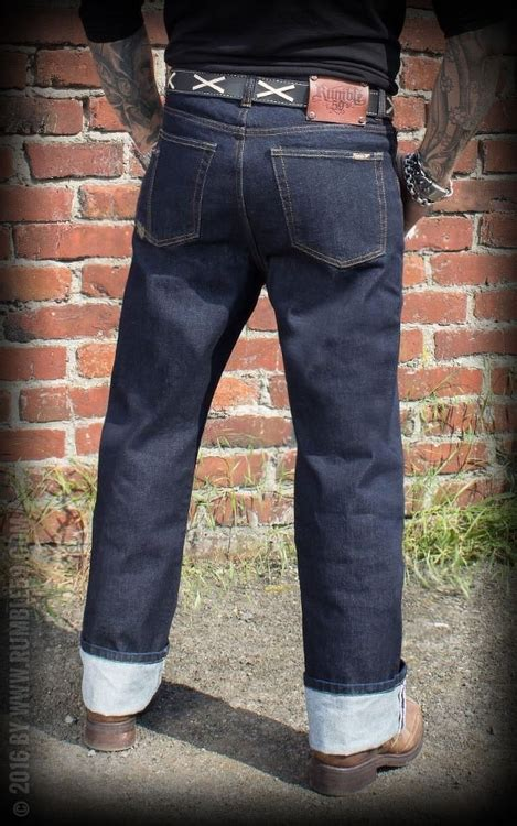 Jeans Greasers Gold - 32/36 - Rockin' Panda