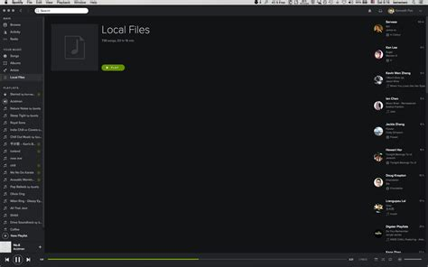 [Mac]local files not loading - The Spotify Community