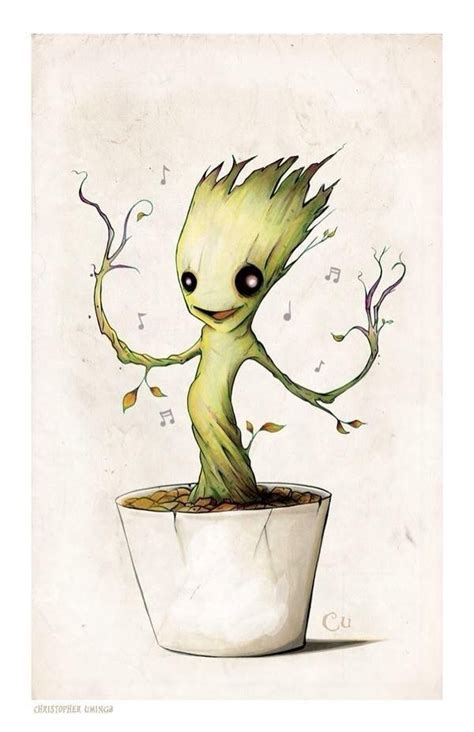 'I Am Cute': 16 Pictures That Prove Groot Is the Most