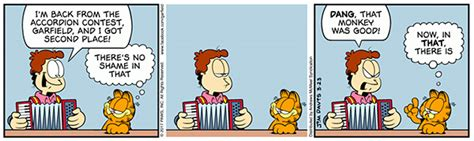 """The history of accordion jokes in """"Garfield"""" - The"""