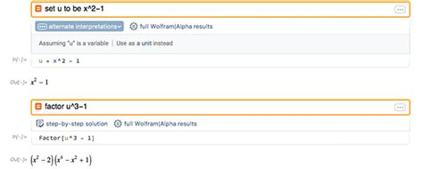 The Ease of Wolfram|Alpha, the Power of Mathematica