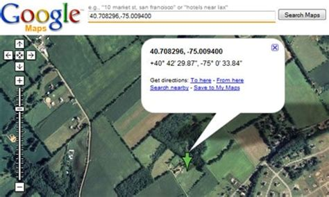 Reverse Lookup: Find a Street Address Give the Latitude