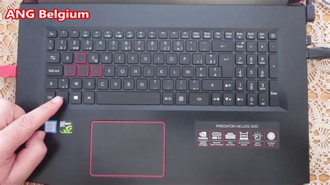 ACER PREDATOR How to switch your keyboard backlight On and