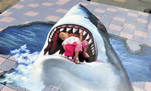Shark attack! Toddler caught in the jaws of great white