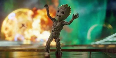 Baby Groot has inspired Marvel to plant tree's for Earth