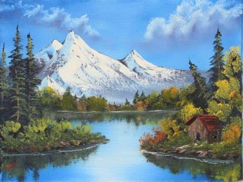 Bob Ross® Mountain Reflections | Landscape paintings