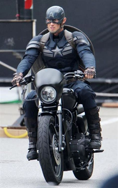 New 'Winter Soldier' Set Pic: Captain America Rides His