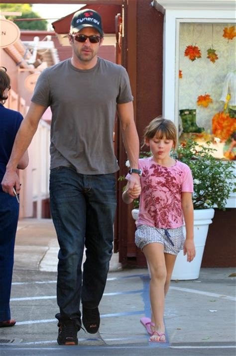 Patrick Dempsey in Patrick Dempsey And His Daughter Out At