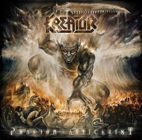KREATOR – reveal limited edition cover