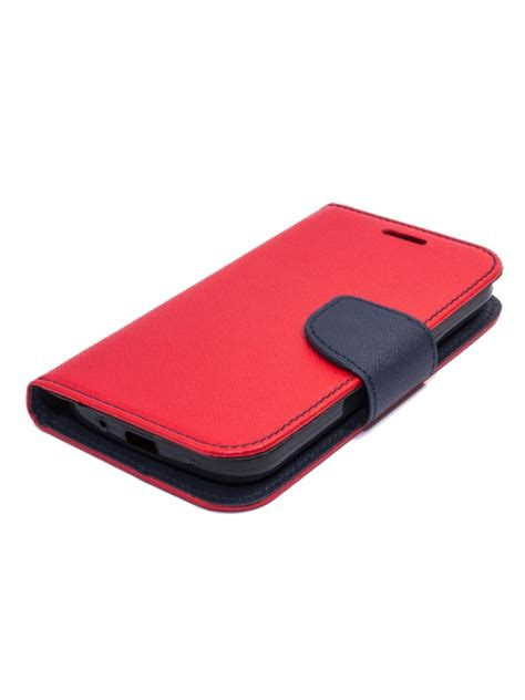 TakeMe Fancy Diary Bookstand Case Huawei Honor 8X Red/Blue