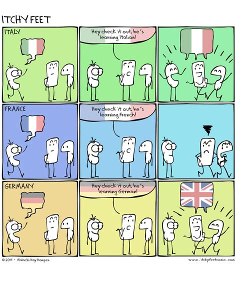 Speaking Terms (A Comic Look At Language Learning