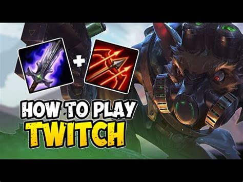 Twitch rune build — what is the optimal build for jgl