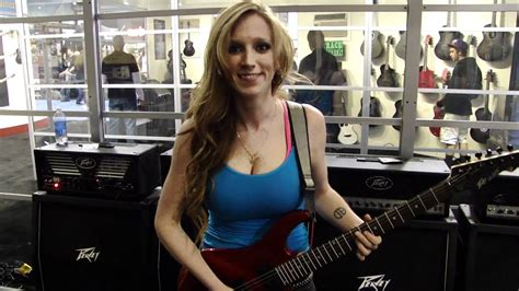 NAMM 2012: Courtney Cox of The Iron Maidens demos the
