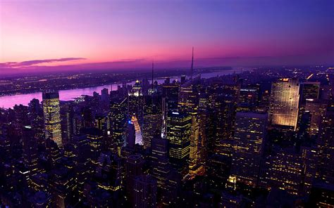 Twilight in New York City Wallpapers | HD Wallpapers | ID