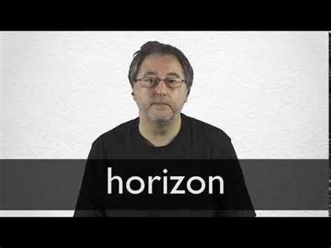 Horizon definition and meaning   Collins English Dictionary