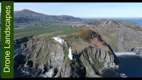Maughold - Isle of Man by Drone - YouTube
