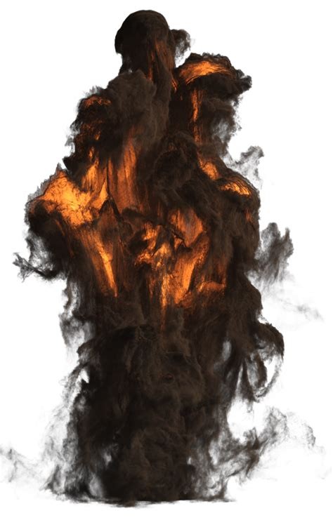 Big Explosion With Fire And Smoke PNG Image - PurePNG