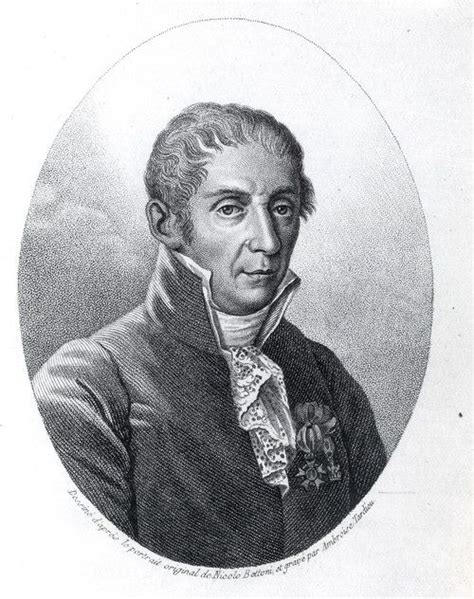 Alessandro Volta, an Italian physicist who invented the