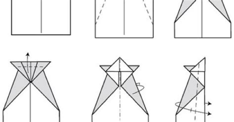 Conrad Paper Airplane step by step Instructions   pyssel