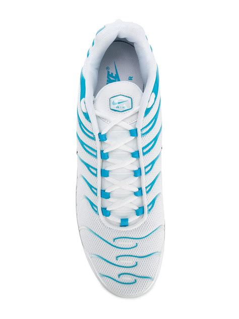 Nike Air Max Plus Tn 'blue Fury' Sneakers in White for Men