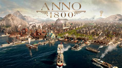 Anno 1800 2019 Game 4K 8K Wallpapers | HD Wallpapers | ID
