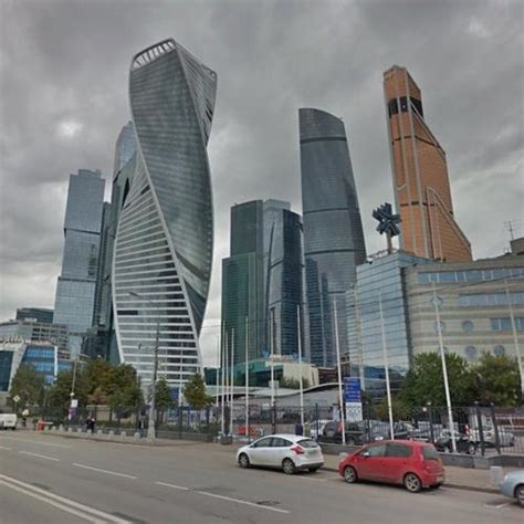 Moscow Skyline in Moscow, Russian Federation (Google Maps)