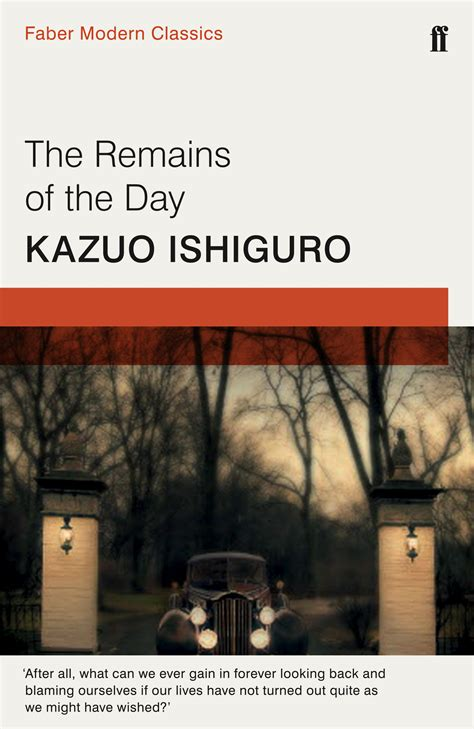 The Remains of the Day - Kazuo Ishiguro - 9780571322732