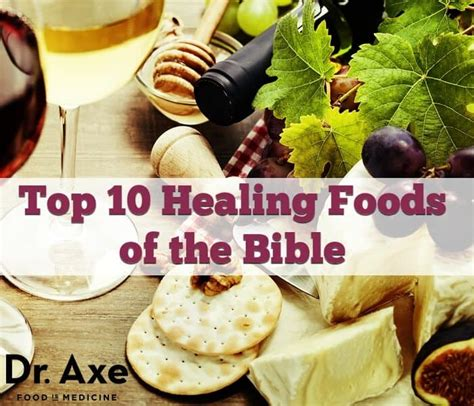Top 10 Bible Foods that Heal - Dr