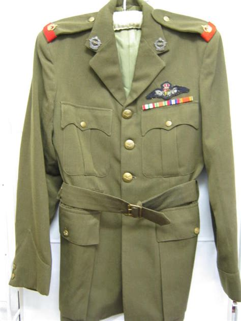 Uniforms - WW2 SOUTH AFRICAN AIR FORCE PILOT TUNIC WITH