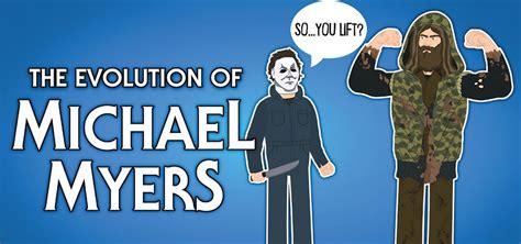 The Evolution Of Michael Myers (Animated) - Horror Land
