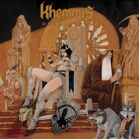 KHEMMIS - Issues Details For »Desolation«! - Nuclear Blast