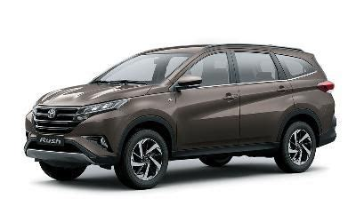 Toyota Rush - photos, colors and specifications- Garage