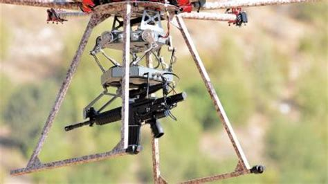 The Tikad drone is equipped with a gun and could replace