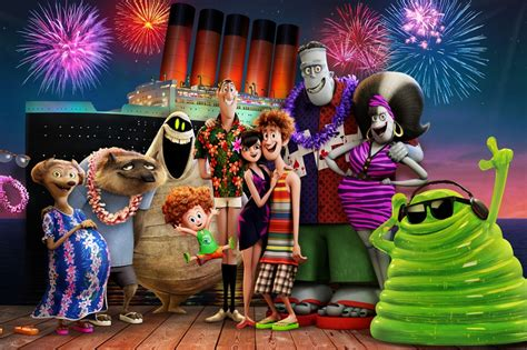 Movie review: Monsters on vacation 'Hotel Transylvania 3
