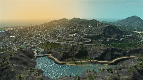 GTA 5's Los Santos recreated for Cities: Skylines - and it