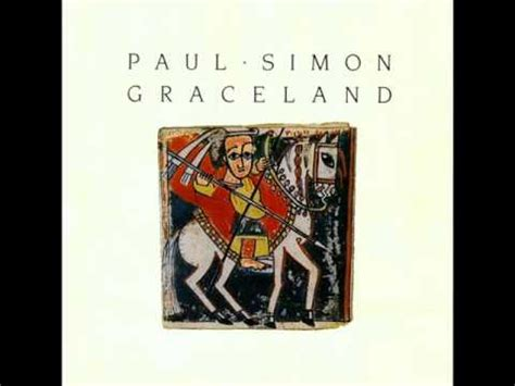 """Paul Simon ~ """"Diamonds on the Soles of Her Shoes"""" - YouTube"""