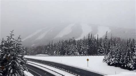First Snow Of The Season For The East! | Unofficial Networks