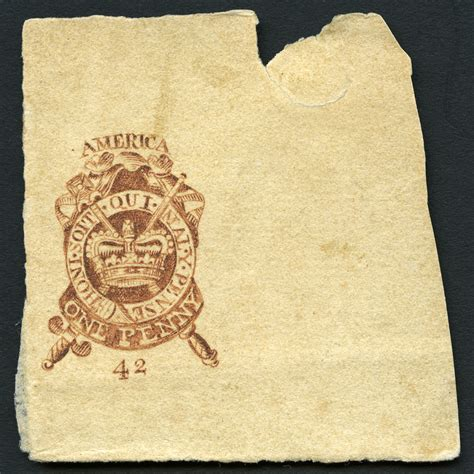 Resources :: 1p Stamp Act of 1765 proof | Smithsonian