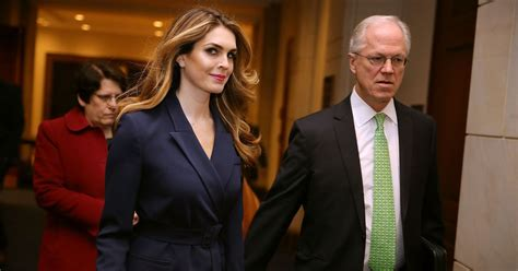 Hope Hicks: Trust Me, I Only Tell White Lies for Trump
